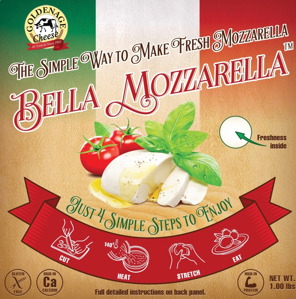 Bella mozz label
