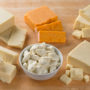 different ages of cheddar cheese