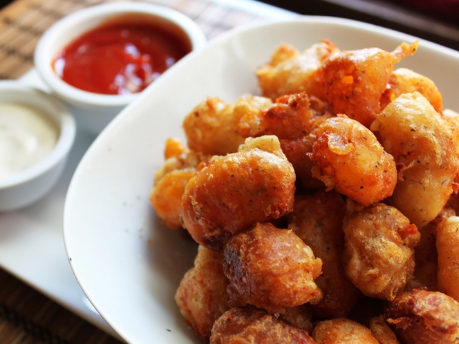 how to make vegan cheese curds