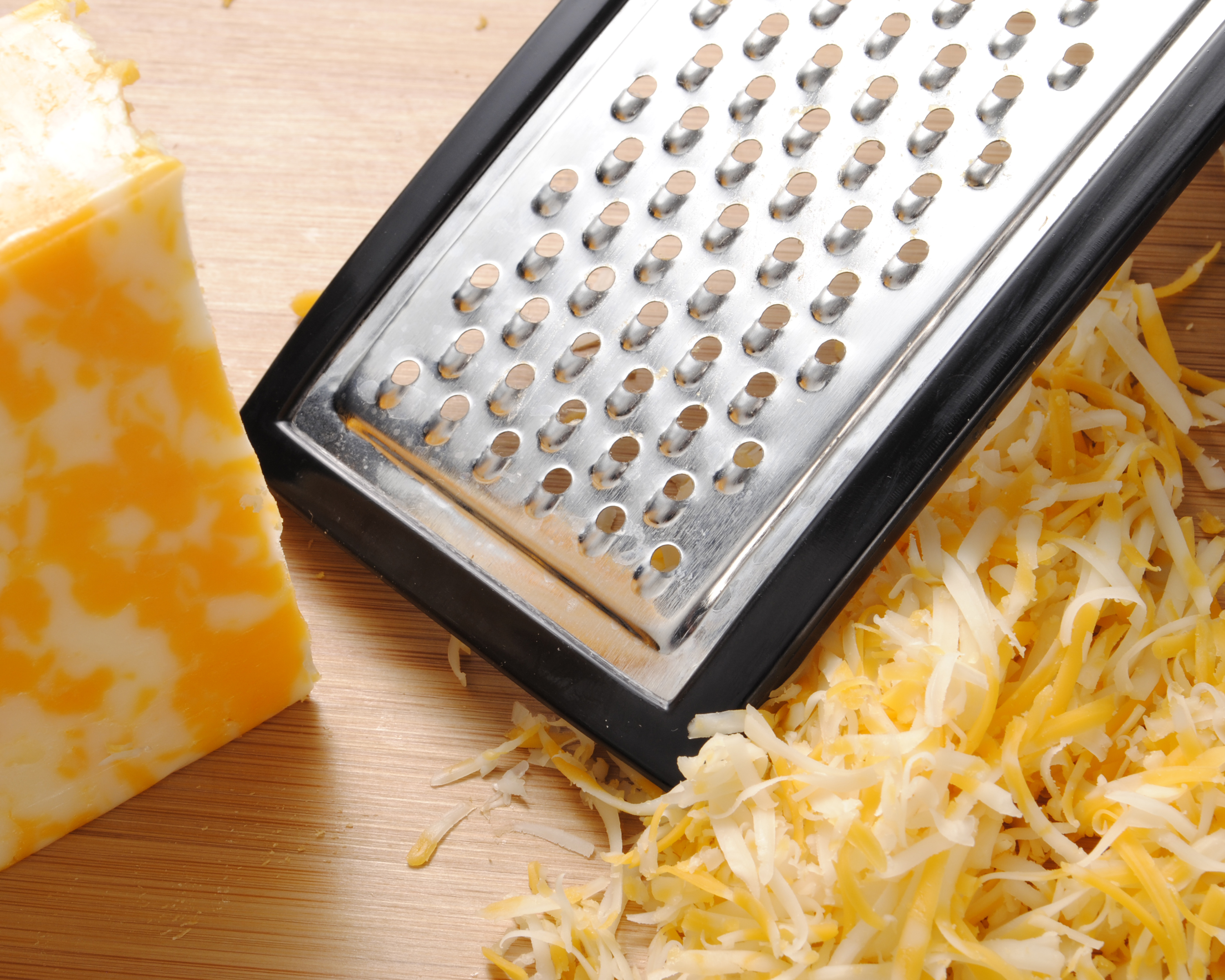 how to grate cheese without a grater
