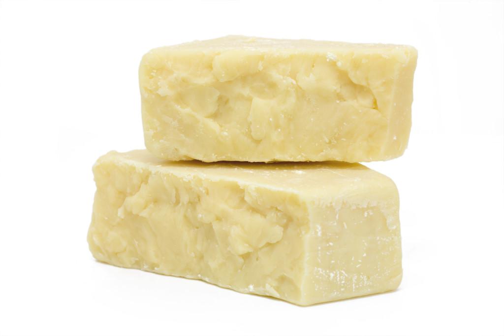 Cheese Blocks Isolated
